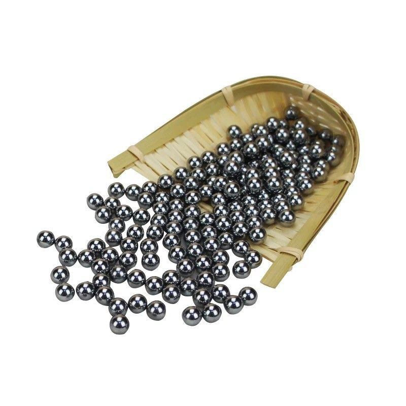 1/8 Inch Small Steel Balls , Tiny Metal Balls Pumps Valves Ball Pen Stable